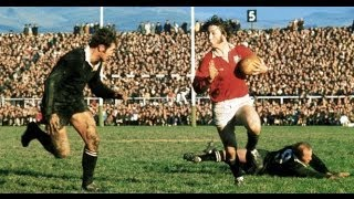 All Blacks vs British Irish Lions 1971 1st Test Highlights