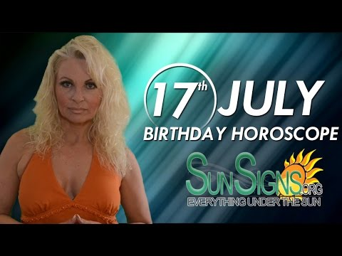 Birthday July 17th Horoscope Personality Zodiac Sign Cancer Astrology