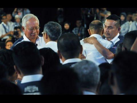 Insiden Memalukan Mat Over Tampar David Teo Depan Najib