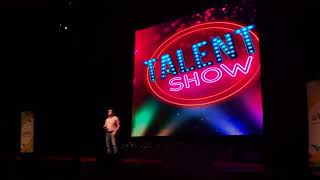 The talents show 2018   Abdulrahman El Labban the stand up comedian
