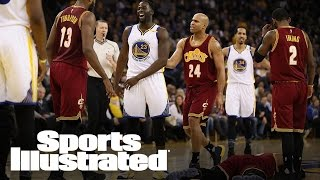 LeBron James On Green's Foul: 'I'm All Right, I'm A Football Player'   SI Wire   Sports Illustrated