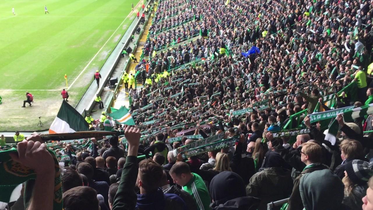 Celtic Fans Singing Grace  Celtic Vs Rangers* Youtube