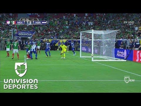 México se salvó en el último minuto de partido