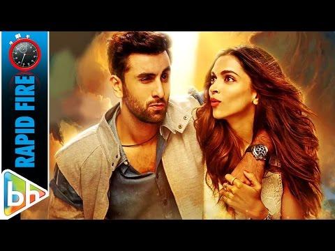 Tamasha | Ranbir Kapoor | Deepika Padukone's Entertaining Rapid Fire On Dilwale, SRK, Ranveer Singh