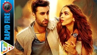 Tamasha | Deepika Padukone & Ranbir Kapoor in a FUN Conversation | Rapid Fire | Bajirao Mastani