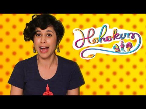 Ashly Burch vs. Spicy Pepper | Hohokum - Hot Pepper Game Review