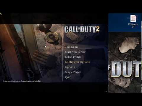 Game Cursor Not Working Call Of Duty 2 Mouse Doesn't Move Windows 10