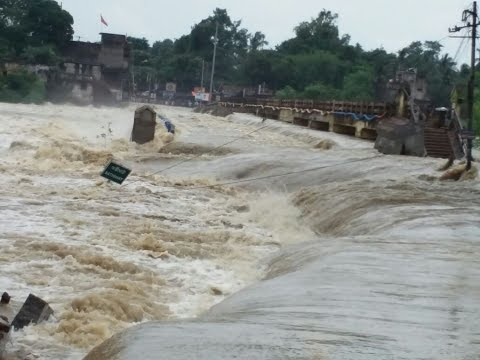 Catastrophic Flood In Bankura, india caught on tape