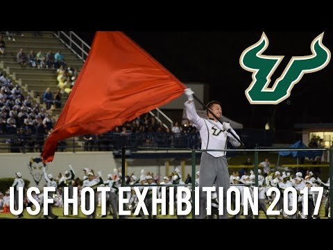 2017 USF Herd of Thunder Band Exhibition @ District 12 MPA [HD]