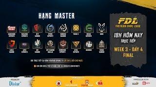 [FirstBlood Divine League] Hạng Master - Ngày chung kết   Cerberus Esports giành chức vô địch!