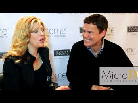 Furniture Today Meets Up With Donny and Debbie Osmond at Las Vegas Market