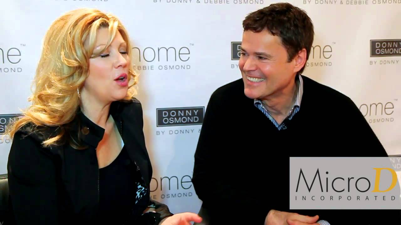 Furniture Today Meets Up With Donny and Debbie Osmond at Las Vegas ...