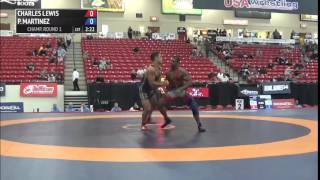 80 kg R1 - Charles Lewis (Placentia) vs Patrick Martinez (Army WCAP)