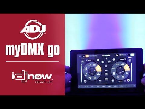 ADJ myDMX go demo with Jordan Nelson (DJ Fayze)