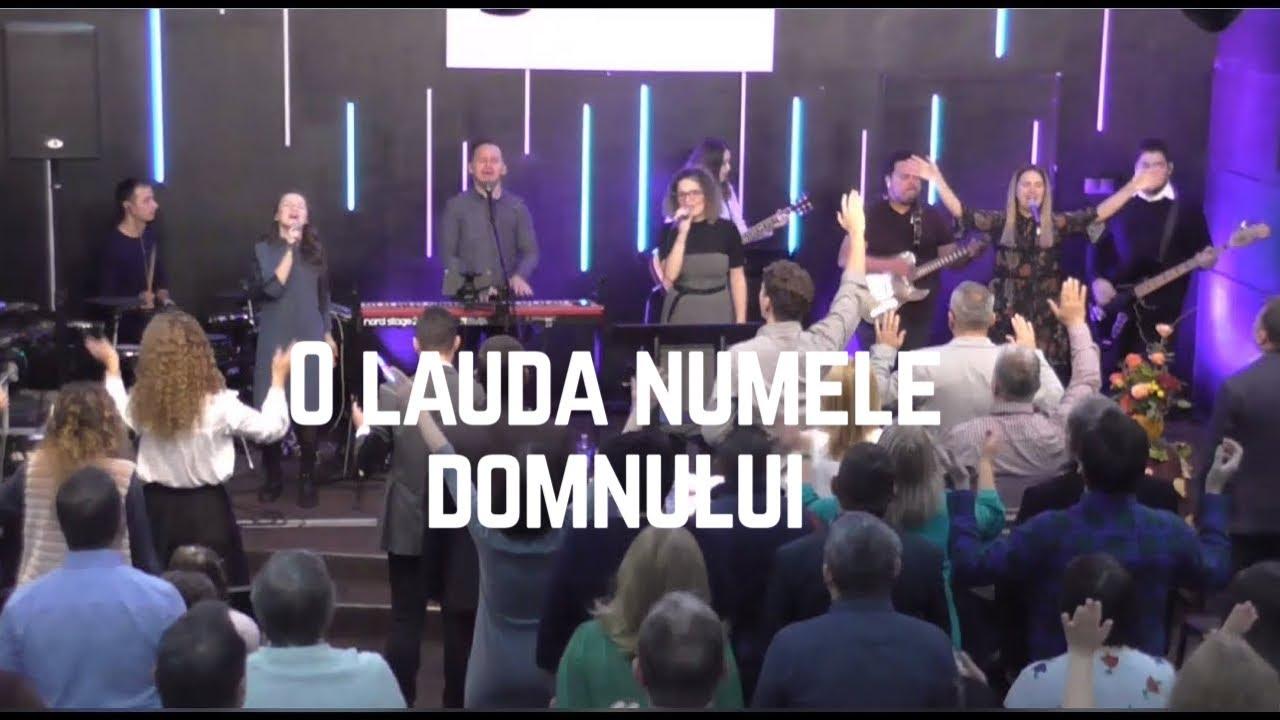 O Lauda Numele Domnului - Logos Music - LIVE - Biserica Credintei Logos