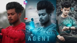 PicsArt Futuristic Time Watch Photo Editing Tutorial Step By Step In Hindi In Picsart