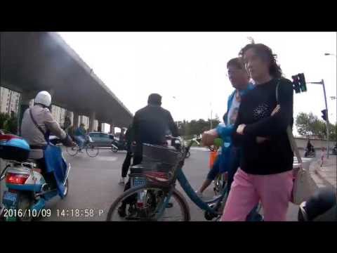 Bike Ride in Shanghai w/ Sports Cam 20161009 - Expo Site