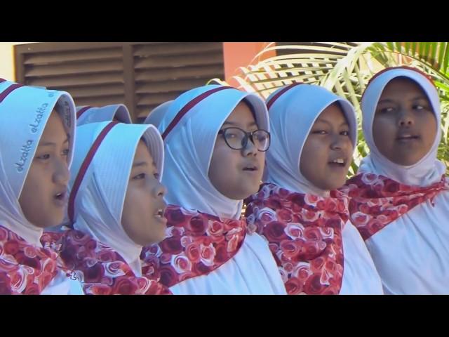 Lomba Padus HUT RI Ke-73 SMP Negeri 1 Kota Serang 2018 part.2