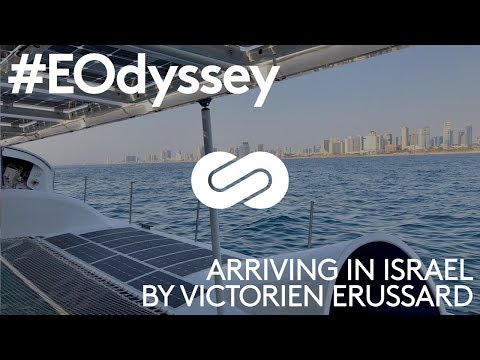 Energy Observer - Review of the navigation between Crete and Israel by Victorien Erussard
