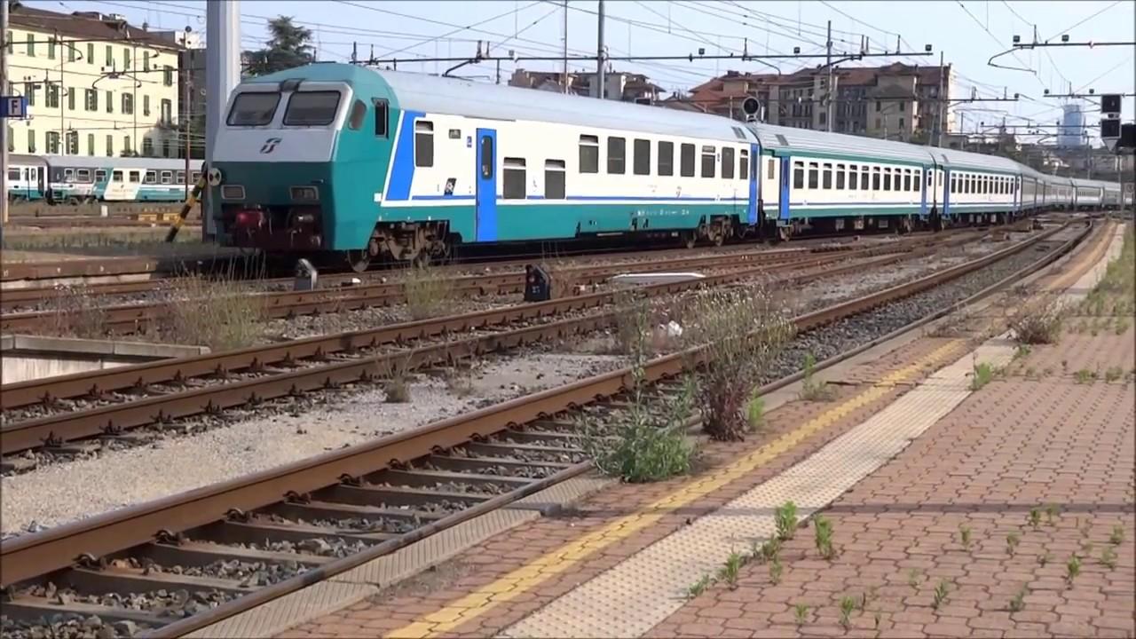 Treni a torino porta nuova parte 1 youtube - Orari treni milano torino porta nuova ...