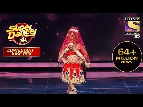 'Radha' पर इस Contestant ने फैलाया कहर   Super Dancer   Contestant Juke Box