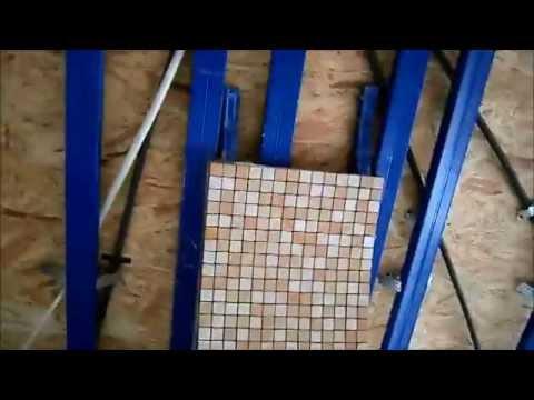 видео: Плитка Откосы. Облицовка арки плиткой