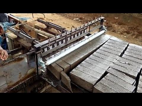 Neueste Technologie Ziegel Machen Maschine Gebäude Arbeit