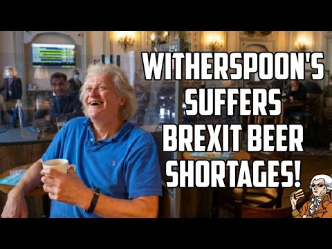 Tim Martin's Wetherspoons Suffers the Consequences of Brexit!