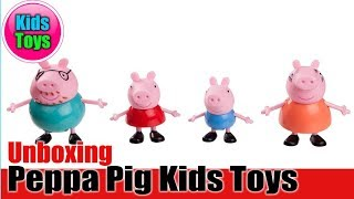 Peppa Pig Kids Toys Cartoon TV Figures | Unboxing 2018