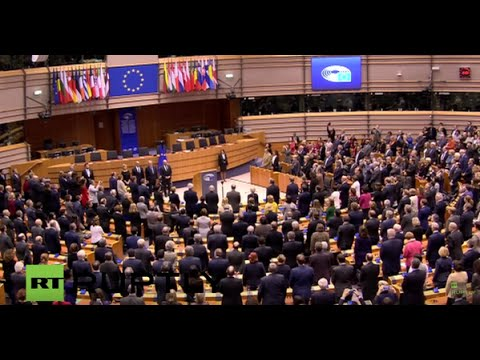 LIVE: Commemorative ceremony for Paris attack victims at Eur