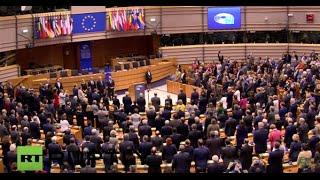 LIVE: Commemorative ceremony for Paris attack victims at European Parliament