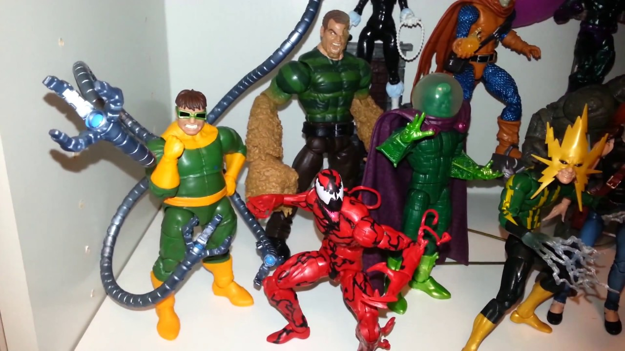 "Marvel Legends 6/"" scale figure Doc Ock SP////DR series complete excellent"