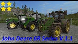 Ls 17   John Deere 6R Series V 1.1  Link:https://www.modhoster.de/mods/john-deere-6r-series http://www.modhub.us/farming-simulator-2017-mods/john-deere-6r-series-v1-1/