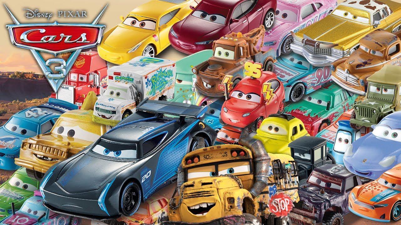 disney pixar cars 3 todo los nuevos autos m s de 40