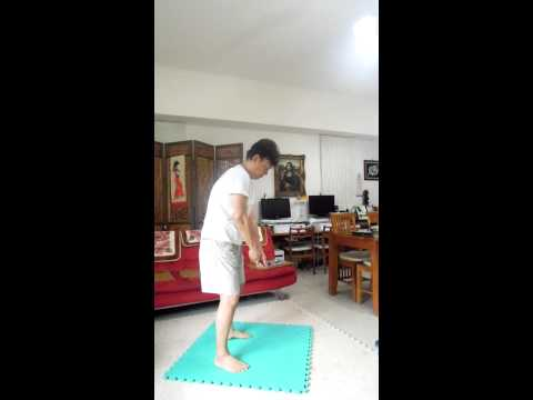 Switch Golfer (1): Dry Run for both Right-hand and Left-hand Swing and become a Switch Golfer