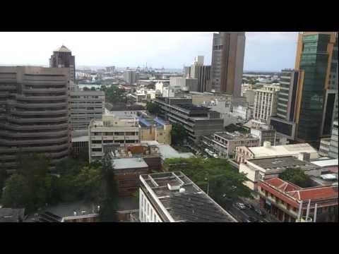 The capital of Mauritius / Столица Маврикия