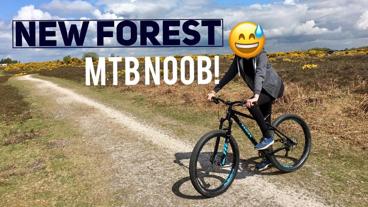 Beginner Mountain Biking New Forest Youtube