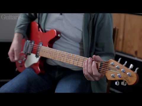 Music Man Cutlass HSS & Valentine Tremolo Demo