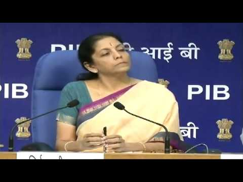 Press Conference by Smt  Nirmala Sitharaman on initiatives & issues related to Dept  of Commerce 2