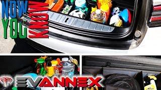 Evannex Tesla Model X Trunk Organizer Review