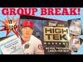 GROUP BREAK!! 2018 Topps High Tek!