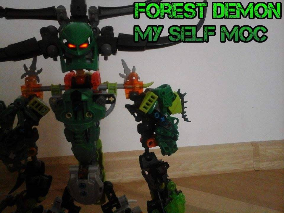 My Self Moc Forest Demon Bionicle Youtube