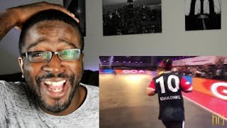 Ronaldinho Destroying Skills & Tricks in Premier Futsal 2017 REACTION