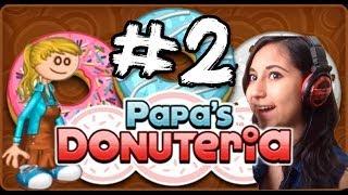 Papa's Donuteria Parte 2- Maicolytus