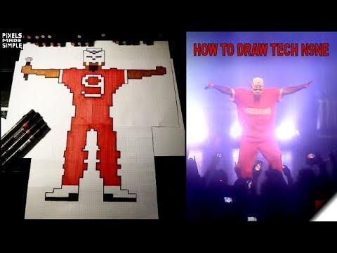 Tech N9ne How to Draw