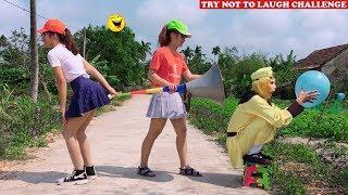 Top New Funny 😂 😂 Comedy Videos 2020 - Episode 96 | Cười Bể Bụng Với Ngộ Không Ăn Hại Và Gái Xinh