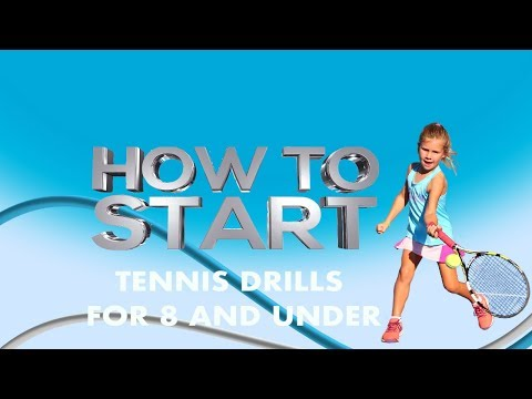 Tennis Drills For 8 And Under Part 2