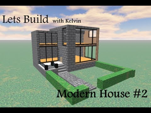 Roblox Lets Build Modern House #2 - YouTube