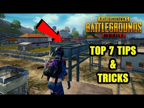 Pubg Mobile Top 7 Tips And Tricks | Hidden Tricks | Secret Locations Erangel