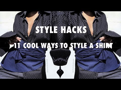11 SURPRISING WAYS TO WEAR BUTTON DOWN SHIRTS  | BACKWARDS,